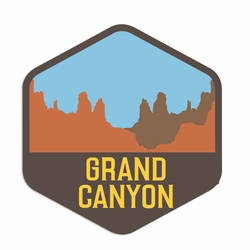 Arizona: Grand Canyon Laser Die Cut