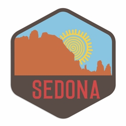 Arizona: Sedona Laser Die Cut