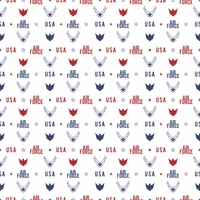 Armed Forces: Air Force Pattern 12 x 12 Paper