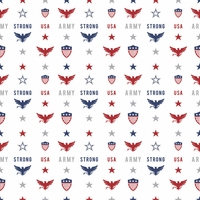 Armed Forces: Army Pattern 12 x 12 Paper
