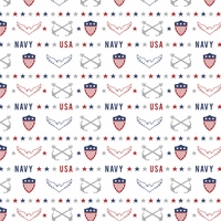 Armed Forces: Navy Pattern 12 x 12 Paper