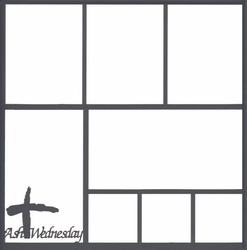 2SYT Ash Wednesday 12 x 12 Overlay Laser Die Cut