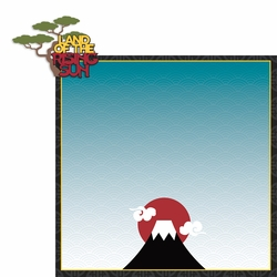 Asia Adventures: Land of the Rising Sun 2 Piece Laser Die Cut Kit