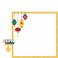 Asia Adventures: Light the way 2 Piece Laser Die Cut Kit