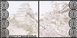 Asia: Breathtaking Views Double 12 x 12 Overlay Quick Page Laser Die Cut