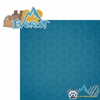 Asia: Everest 2 Piece Laser Die Cut Kit
