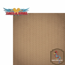 Asia: Flights 2 Piece Laser Die Cut Kit