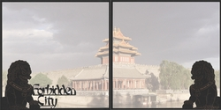 Asia: The Forbidden City Double 12 x 12 Overlay Quick Page Laser Die Cut