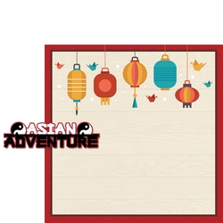 Asian Dream: Asian Adventure 2 Piece Laser Die Cut Kit
