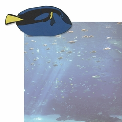 At the Aquarium: Just Keep Swimming 2 Piece Laser Die Cut Kit