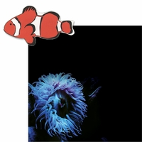 At the Aquarium: Sea Anenome and Clownfish 2 Piece Laser Die Cut Kit