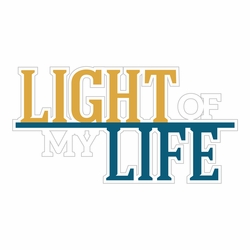At The Seashore: Light Of My Life Laser Die Cut