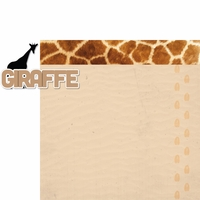 At The Zoo: Giraffe 2 Piece Laser Die Cut Kit