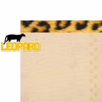 At The Zoo: Leopard 2 Piece Laser Die Cut Kit