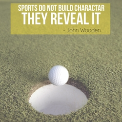 Athletic Affirmations: Golf 12 x 12 Paper