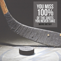 Athletic Affirmations: Hockey 12 x 12 Paper