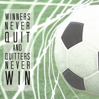 Athletic Affirmations: Soccer 12 x 12 Paper