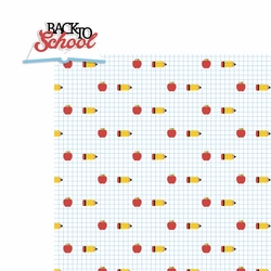 August: Back to School 2 Piece Laser Die Cut Kit