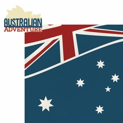 Australia: Australian Adventure 2 Piece Laser Die Cut Kit