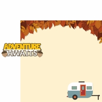 Autumn Air: Adventure Awaits 2 Piece Laser Die Cut Kit