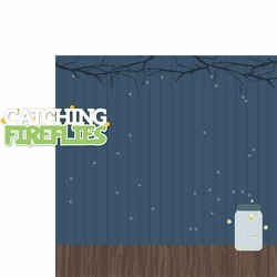 Autumn Air: Catching Fireflies 2 Piece Laser Die Cut Kit