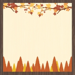 Autumn Air: My Favorite Season 12 x 12 Paper