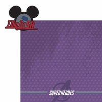Avenger Run:  Super Hero 2 Piece Laser Die Cut Kit