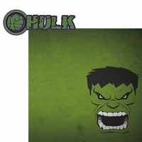 Avengers Assemble: Hulk 2 Piece Laser Die Cut Kit