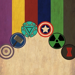 Avengers Assemble: The Avenger 12 x 12 Paper