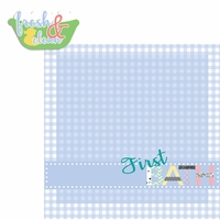 Baby's First: Bath 2 Piece Laser Die Cut Kit