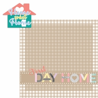 Baby's First: Day Home 2 Piece Laser Die Cut Kit