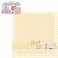 Baby's First: Smile 2 Piece Laser Die Cut Kit