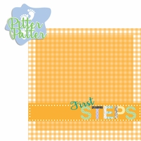 Baby's First: Steps 2 Piece Laser Die Cut Kit
