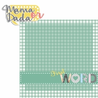 Baby's First: Word 2 Piece Laser Die Cut Kit