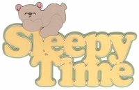 Baby: Sleepy Time Laser Die Cut