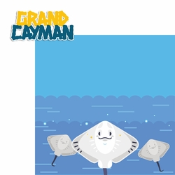 Bahamas: Grand Cayman 2 Piece Laser Die Cut Kit