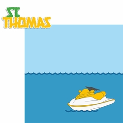 2SYT Bahamas: St. Thomas 2 Piece Laser Die Cut Kit