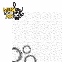 Band: Music 2 Piece Laser Die Cut Kit