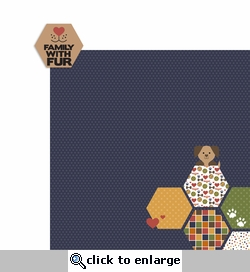 Bark: Family Fur 2 Piece Laser Die Cut Kit