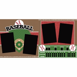 Baseball 2 Page Layout