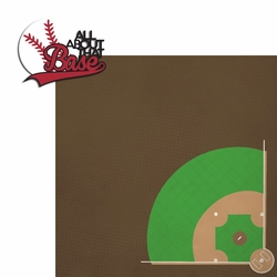 Baseball: All about base 2 Piece Laser Die Cut Kit