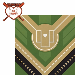 Baseball: For the Love of the Game 2 Piece Laser Die Cut Kit