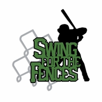 Baseball: Swing for the fences Laser Die Cut