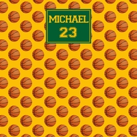 Basketball Custom 12 x 12 Paper