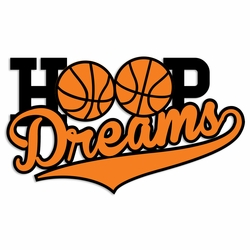 Basketball: Hoop Dreams Laser Die Cut