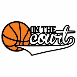 Basketball: On the Court Laser Die Cut