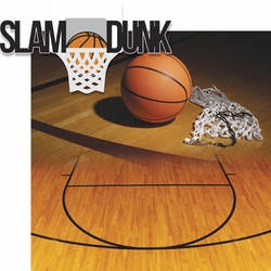 2SYT Basketball: Slam Dunk 2 Piece Laser Die Cut Kit
