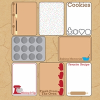 Batter Up: Journaling Cards 12 x 12 Paper