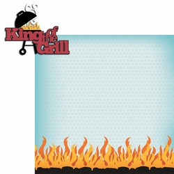 2SYT BBQ: King Of The Grill 2 Piece Laser Die Cut Kit