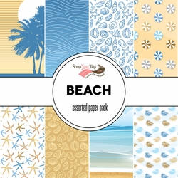 Beach Assorted 12 x 12 Paper Pack